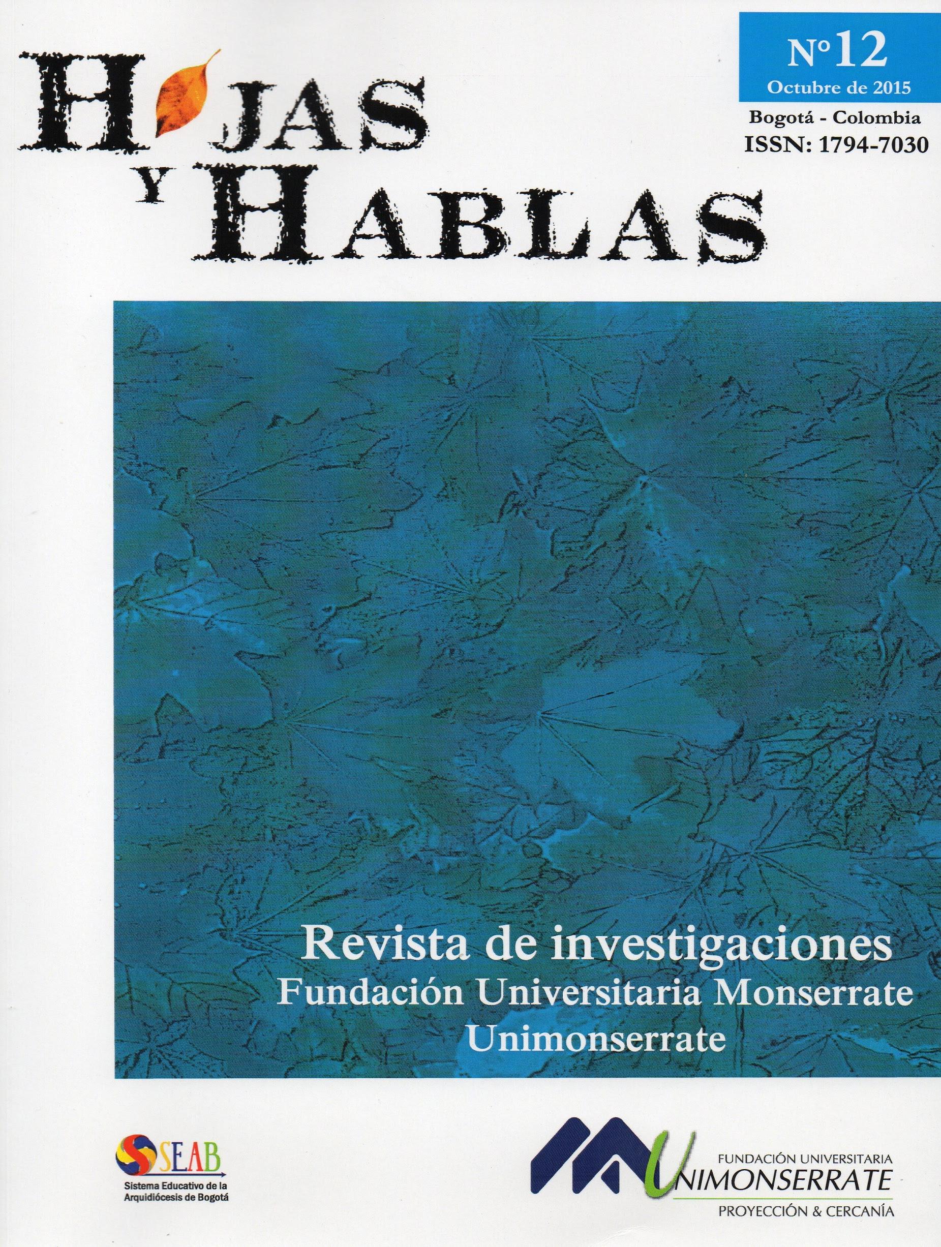 Revista Hojas y Hablas